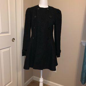 Small wool vintage inspired pea coat